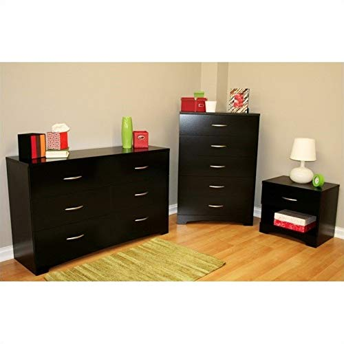 Amazon Com South Shore Maddox Dresser With Chest And Nightstand