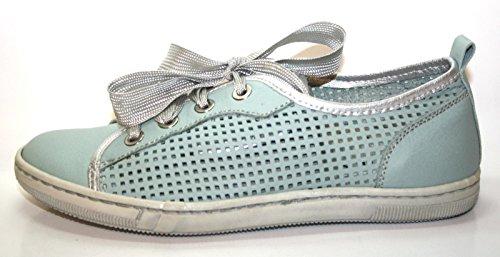 Cherie , Chaussures de ville à lacets pour fille Bleu Bleu