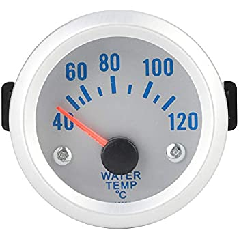Digital Water Temp Gauge Kit 50mm 40-120 ℃ Digital Blue LED Water Thermometer Gauge Meter For Auto Car Racer Truck
