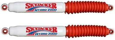 Skyjacker H7088 Red Pair of Hydro H7000 Shocks for Cherokee Grand Wagoneer J10 J20 4WD with 4-5in Front and Rear Lift