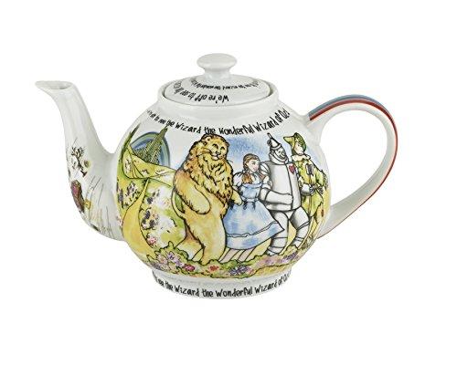 Cardew Design Wizard of Oz Teapot 4 Cup, 30 oz, Multicolor