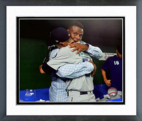 - Ichiro Suzuki & Ken Griffey Jr. Seattle Mariners Final MLB Game Photo (Size: 12.5