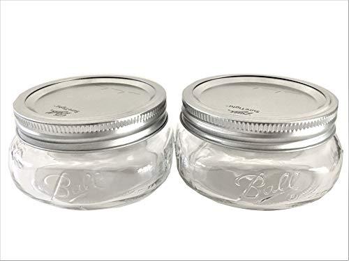 Mason Ball Jar-8 oz. Wide Mouth