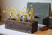 "18"" Rustic Planters Box (5"" - 5.75""T"