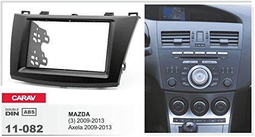 Axela 2009-2013 3 CARAV 11-082-15-2 2-DIN Marco de pl/ástico para Radio para Mazda