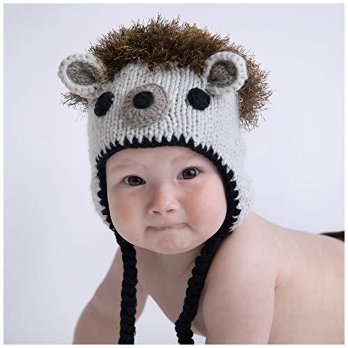 huggalugs Baby and Toddler Boys Girls Hedgehog Beanie