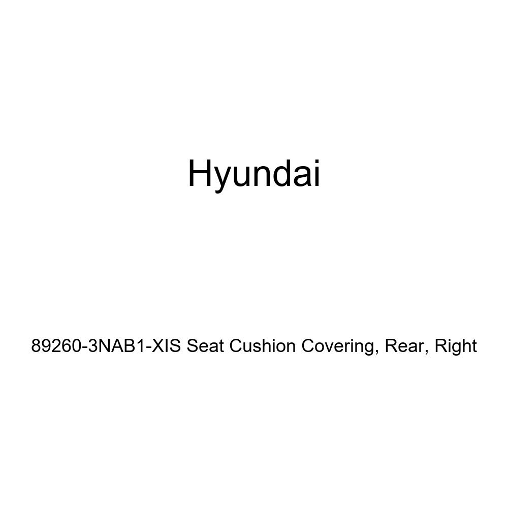 Right Genuine Hyundai 89260-3NAB1-XIS Seat Cushion Covering Rear
