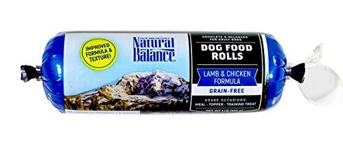 Natural Balance Dog Food Roll, Lamb & Chicken Formula, 1-Pound