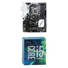 ASUS Z170-A ATX DDR4 Motherboards + Intel Boxed Core I5-6600K 3.50 GHz, 6 M Processor Cache 6 for LGA 1151