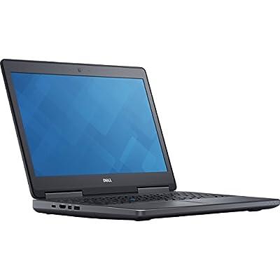 Dell Precision 7510 Mobile Workstation Laptop, Intel Xeon E3-1505M v5, 32GB DDR4, 512GB Solid State Drive, Windows Pro 10 PRM7510-33889