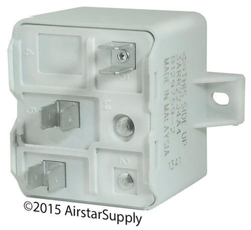 American Standard RLY03210 / RLY-3210 - OEM Start Relay: SPST , 50A Coil , 239V Pick Up / 135V Drop Out by American Standard (Image #2)