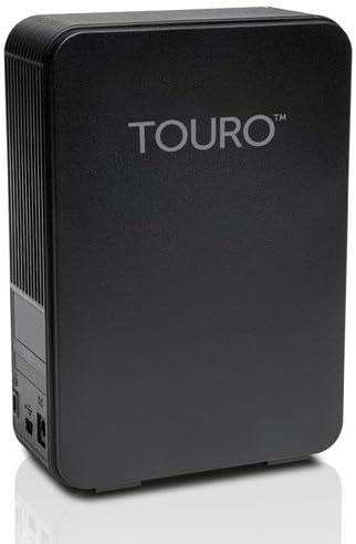 HGST TOURO Desk DX3 TV 4TB 外付けハードディスク PC/TV録画対応 ブラック 0S03584