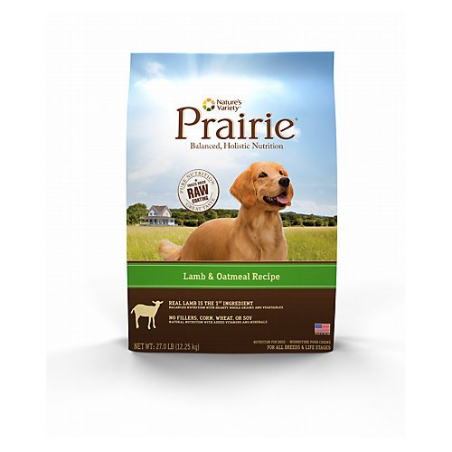 Natures Variety Prairie Lamb Dry Dog Food 13.5lb