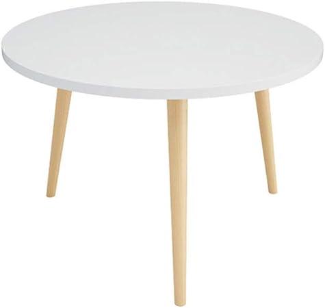 QULONG Table De Salle À Manger Table De Salle À Manger Ronde ...