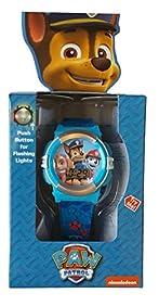Nickelodeon Paw Patrol Flashing Lights Digital Watch