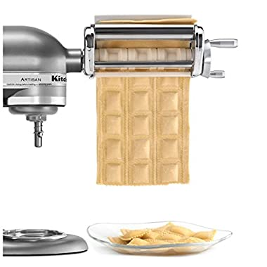 New KitchenAid KRAV Ravioli Maker Mixer Attachment
