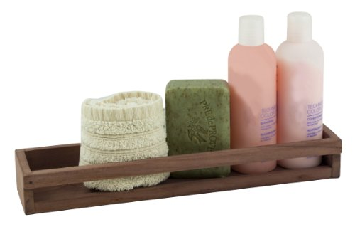 Teak Shower Accessories - SeaTeak 62526 Stow Rack
