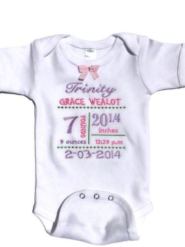 Baby Onesie Custom Baby Onesie Personalized Onesie Baby Custom Onesie Personalised Striped Baby Onesie Newborn Onesie Baby Boy Onesie