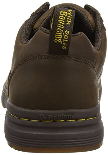 Dr. Stivale Martens Mens Greig Oxford Repubblica Marrone Scuro