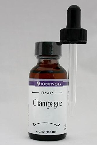 LorAnn Oils 1 Oz. Champagne Sparkling Wine Flavoring Oil with Dropper