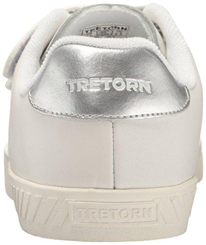 Sneaker Da Donna In Pelle Bianca Tretorn