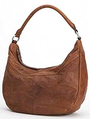 FRYE Veronica Zip Hobo Leather Shoulder Bag