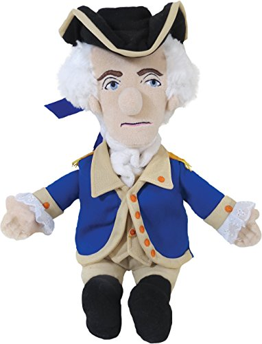 "The Unemployed Philosophers Guild George Washington Little Thinker - 11"" Plush Doll for Kids and Adults"