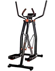 New Image Maxi-Glider 360, 10 in 1 Cross Trainer Cardio Workout 4 Levels of Resistance with Heart Rate Monitor