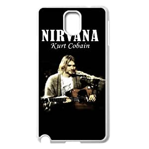 Samsung Galaxy Note 3 N9000 2D Personalized Hard Back Durable Phone Case with Nirvana Image