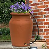 Planter-Urn Rain Barrel - Terra Cotta
