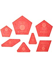 Paper Pieces Acrylic Fabric Cutting Template for Tula Nova (7 Piece Set)