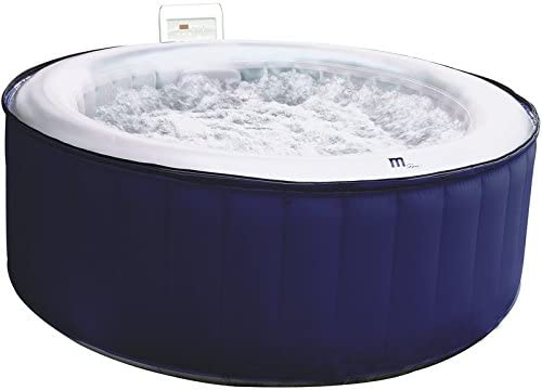 Productos QP SPA Hinchable Oasis 180 x 70, 4 Plazas, Negro ...
