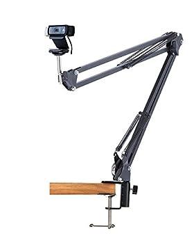 Soporte de Webcam escritorio suspensión de los Brazo de Tijera Soporte para Logitech Webcam C922x C922 C930e C930 C920 C615: Amazon.es: Electrónica