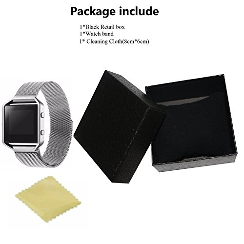 Fitbit Blaze Smart Watch Band Large, Cbin Milanese Loop ...