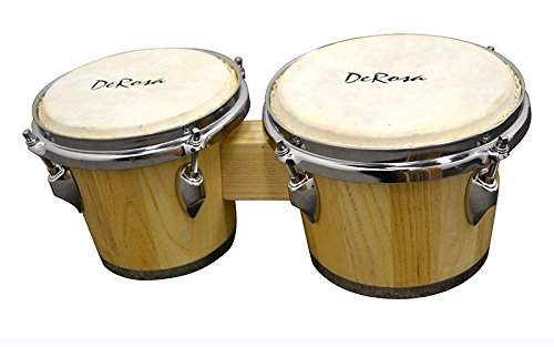 - New Wood Music Tunable Bongo Drum Wood bongos drums