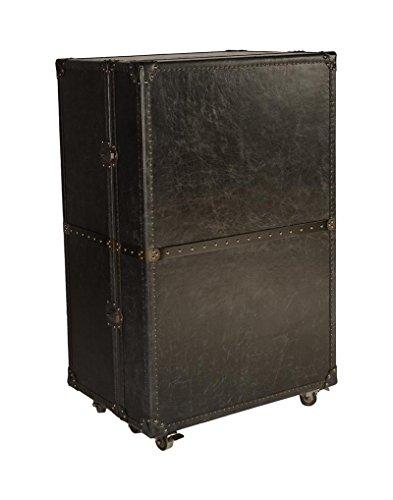 Price comparison product image Lazzaro Leather WH-F1301-9010A Meomi Small Wine Cabinet