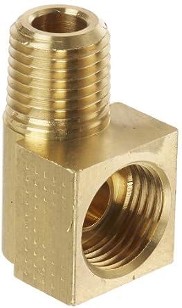 Eaton Weatherhead 402x6 Brass Ca360 Inverted Flare Brass