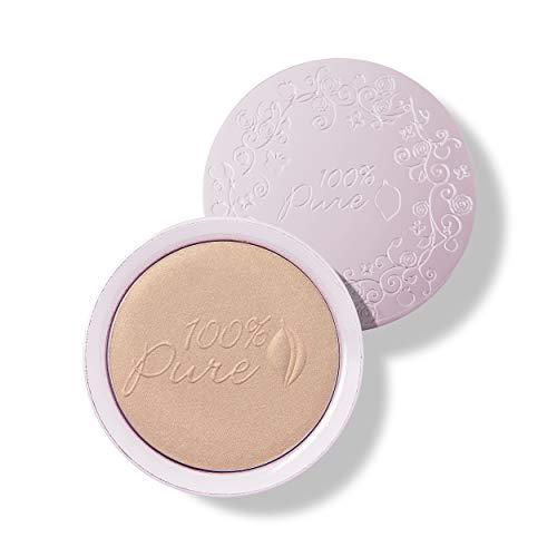100% PURE Gemmed Luminizer, Copper Gold, Face Highlighter for Glowing Skin, Natural Shimmer, Illuminator Makeup (Warm…