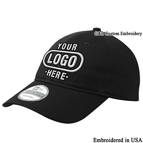 stable Structured Custom Cap. Embroidered. Your Own Logo Or Text Embroiderey (Black) ()