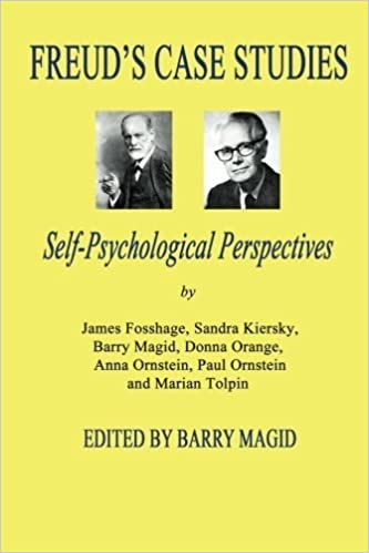 Book Freud's Case Studies: Self-Psychologial Perspectives (2010-07-21)