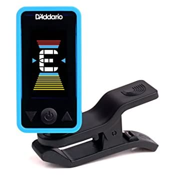 D'Addario Accessories Eclipse Headstock Tuner, Blue