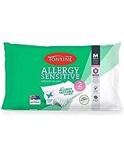 Tontine T2891 Allergy Sensitive Pillow Duo Pack, Medium