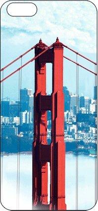 authentic Cases 3D Mobile Arts True 3D Autocollant pour iPhone 5 Golden Gate Bridge