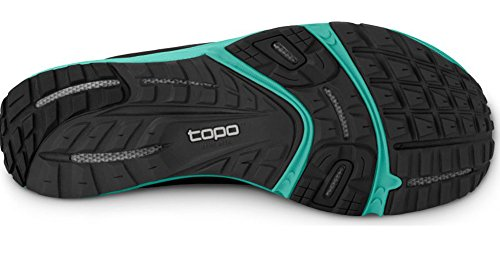 Topo Athletic Hydroventure Trail Running Shoe - Women's Black/Turquoise 8.5 by Topo Athletic (Image #2)