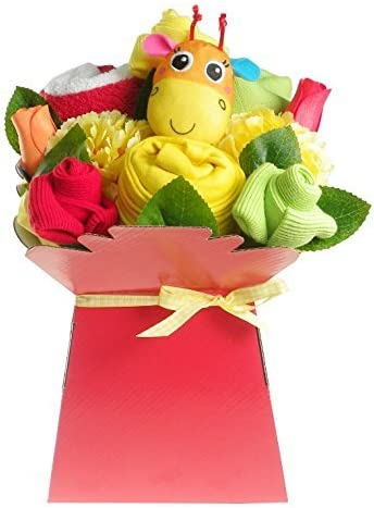Say It Baby Baby Clothes Bouquet Gift Set
