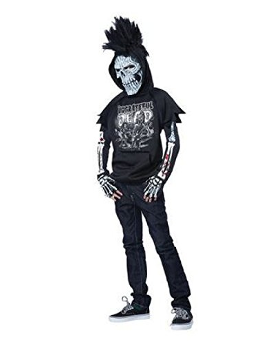 Totally Ghoul Teen Boys' Ungrateful Dead Halloween Costume (Large)