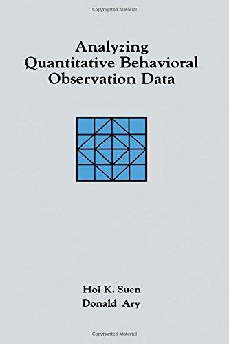 Analyzing Quantitative Behavioral Observation Data