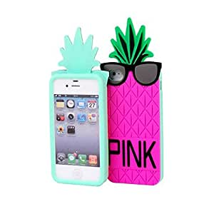 Cute Colorful Pineapple Case Cover Shell for Apple iPhone 5
