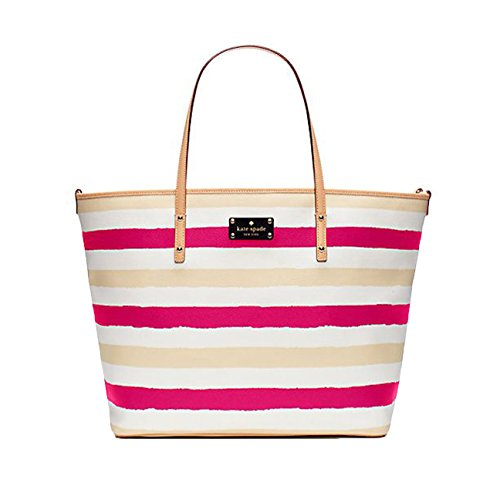 Kate Spade New York Bondi Road Harmony Baby Diaper Tote Bag, Pink / Cream