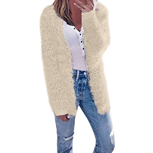 (Sunhusing 2018 Women's Fashion Autumn Winter Long Sleeve Cardigan Casual Jacket Coat)